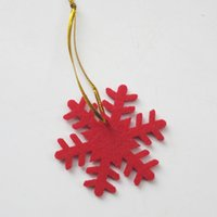 Cloth army christmas ornaments - 300pcs Christmas decorations felt Christmas tree pendant ornaments snow ornaments drop shipping Can be customized