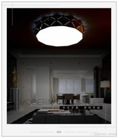 absorb beautiful - Beautiful LED Celling lamp Absorb Dome Dimmable Light High Power White circle W W W modern simple Lantern for bedroom dinning room