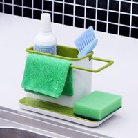 bathroom floor towel racks - New Arrival Sink Draining Brush Sponge Cleaning Cloth Towel Rack Washing Holder Kitchen Tidy Stand