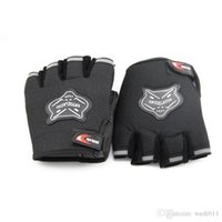 Wholesale Weight Lifting Gloves Workout Body Building Gym Gloves Half Finger Fitness Anti Slip Bar Grips Strength Training Exercise Mitts