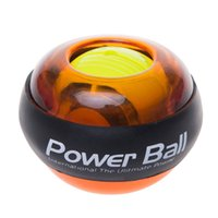 Wholesale New power wrists powerball gyroscope gyro ball wrist exercise equipment hand gripper strength power energy force ball
