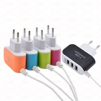 ac accessories travels - Portable USB Port EU US Plug Wall Charger Travel AC Power Adapter With Micro usb Cable For Mobile Phone Accessories
