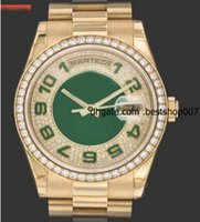 anniversary gem stones - Luxury watch Mens Anniversary Diamond Bezel Watch Men Gold Watches Men s President Dress Wristwatches