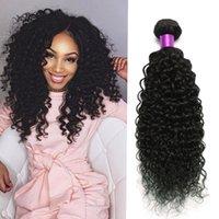 3Bundles malasio rizado rizado tramas del pelo Negro natural puede ser teñido 100g pelo malasio de Malasia Bundles pelo rizado rizado del pelo humano teje