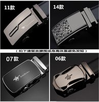 Wholesale Belt new arrival men automatic buckle brand new fashion leather belts for business men high quality luxury for man