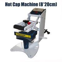 Wholesale 820 Manual hot cap machine hat heat press machine big size headdress chapeau stamping machine