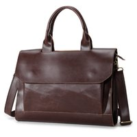 Wholesale Men s bags High quality male business men s briefcase handbag good wear resisting is guaranteed by the quality of pu material package mail