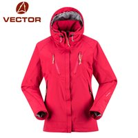Wholesale DHL Ski Jacket Women Brand Outdoor Waterproof Camping Hiking Jackets Women Skiing Snowboard Thicken Snow Coat