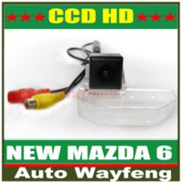 Wholesale Car Rear View Reverse Backup Camera NEW MAZDA6 Car Rear View Reversing HD CCD back up Camera for Mazda