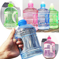 Wholesale 0 L L Professional Free Sport Gym Training Party Drink Water Bottle Cap Kettle With Handle For Outdoor Camping Drinking Tools