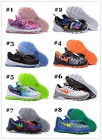Wholesale Cheap KD Basketball Shoes KD What the KD Sports Shoes Basket Ball Boots Mens Trainer Kevin Durant KD Athletics Footwear Sneakers