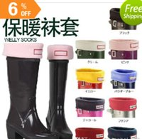 adults fashion wellies - Unisex Adults Hunter Boot Socks Welly Warm Festival Wellingtons Boots All Sizes