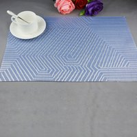 american kitchen table - New Arrival Durable placemat table mat Western pad Placemats Glass Coaster Tray hot sale Spoon Pad American Kitchen Tool WM