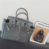 Wholesale Designer women handbags PU bag button All Cow Leather Bags Durable Top End Quality cm