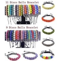 beaded toggle - Ultra low Color mm Ke clay shamballa Shamballa Bracelet drill ball weaving