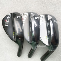 Wholesale New Golf wedges RomaRo SOLE Golf clubs wedges clubs Steel shafts