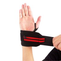 Wholesale 2 Weight Lifting training sport wrist bandage professional bodybuilding gloves protect palm weightlifting dumbbell