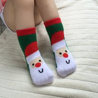 Wholesale 2016 new fashion baby new year Christmas socks baby children thick cotton socks