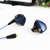 Wholesale Hot SENFER UE Custom Made Around Ear Earphone HIFI Monitor Earphone Bass Headset With MMCX Interface cable