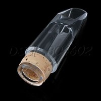 Wholesale Professional Clear Transparent CLARINET MOUTHPIECE Bolwtorch For Bb Clarinet