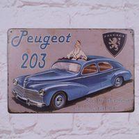 antique cast iron cars - Retro Iron Tin Signs Luxury Car Decor Pub Garage Room Wall Poster