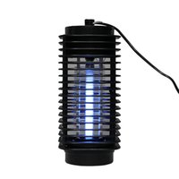 Wholesale No Poison No Smell Safe Electric Shock Mosquito Killer Fly Zapper Insect Trap Night Lamp V US Plug