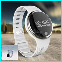 English bicycles for kids - Bluetooth Smart Watch E07 IP67 Waterproof Sport Bicycle riding Wristband GPS Motion Trail Call Reminder Smartband Bracelet For Android phone