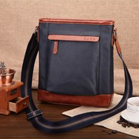 Wholesale Simple Type of Men s Messenger Bag Men Stereotypes Bag Men Shoulder Bag Waxed Canvas High Quality Leisure Package