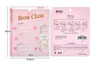Wholesale Korea Hot thrush artifact card auxiliary thrush eyebrow artifact Beauty eyebrow shaping tool easy to operate draw eyebrows personality