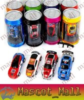 Wholesale DY273 color Mini Racer Remote Control Car Coke Can Mini RC Radio Remote Control Micro Racing Car children toy Gift