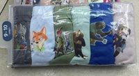 Wholesale Cartoon Zootopia Batman minions angry bird Baby briefs Boxers Underwear breathable antibacterial underpants knickers DHL shipping C673