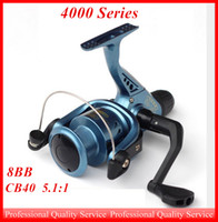 Wholesale Fishing Reel Bearings Left Right Interchangeable Collapsible BB Ball Handlle Fishing Spinning Reel out062