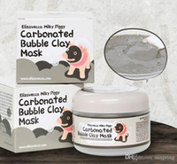 Wholesale Carbonated Bubble clay mask Elizavecca milky piggy Moisturising Whitening masks colors free by DHL