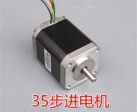 Cheap 35 stepper motor 2 phase 4 wire 2.6kg.cm for 3d printer DIY precision front back ball bearing 29cm 258g