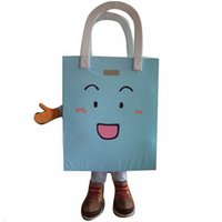 bags etc shop - Advertising Blue Hand Shopping Bag Mascot Costume Kids Shopping Theme Carnival Mascotte Fancy Dress Kits Can Print Logo etc SW1963