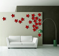 Wholesale resin ceramic wall art bauhinia resin sculpture art Wall Decals Handmade wallstickers unique abstract handicraft flowers crafts home decals