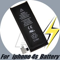 Wholesale For Iphone s Battery Replacement Battery For Iphone S A Quality Cell Phone Batteries For Iphone4S Li ion Battery No Logo Retail Package