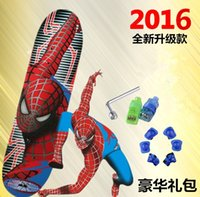 Wholesale 2016 Hot SIKD four children scooter stroller scooter toy car baby four sided pattern skateboarding cartoon
