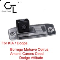 amanti opirus - For KIA Borrego Mohave Opirus Amanti Carens Ceed Dodge Attitude Wireless Car Auto Reverse CCD HD Rear View Camera Parking Assistance