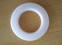 Wholesale High quality white color decoration curtain accessories plastic rings eyelets for curtains