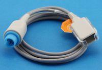 Wholesale Mindray masimo Compatible SpO2 Sensor Extension Adapter Cable Light Blue Pin