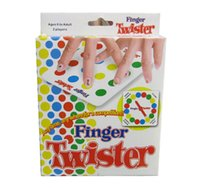 Wholesale Finger Twister Game fun board game for players party game for kids good choice for children s Day
