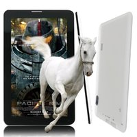 Wholesale 7 Inch Andrroid4 Quad Core Tablet pc WiFi G Phone Call SIM Card Smart Pad Phone Phone call tab pc