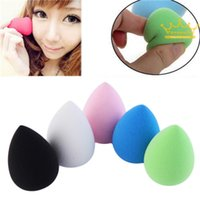 Wholesale Hot Selling New Cute Water Drop Shape Great Beauty Sponge Blender Makeup Blending Foundation Smooth Sponge