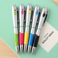 Wholesale Ball lamp LED lamp pen pen pen torch pen ball pen with a ballpoint pen with lighting lamp creative