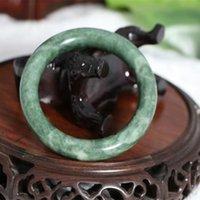 grade a jade bangle - Hot Sale A grade Pure Natural Jade Bangle Bracelet Jade Bracelet With Certificate size mm mm