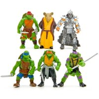 Wholesale 2016 New Toys TMNT Teenage Mutant Ninja Turtles PVC Action Figures Toy Classic Collection Model For Kids Boys