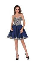 belle bridesmaid - Chic Belle Women Sweetheart Strapless Lace Short Prom Gowns Homecoming Dresses