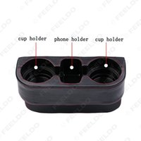 Wholesale New for Multifunction Lether Car Vehicle Cup Drink Bottle Holder Phone Holer Colors guarantee quality
