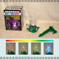 Wholesale Led Garden Sprayers Shower Colorful Lawn Sprinkler Watering Equipments Color Changing Colors for Sale